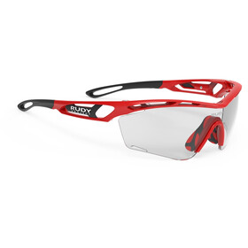 Rudy Project Tralyx Slim Lunettes, fire red gloss/impactX 2 photochromic black